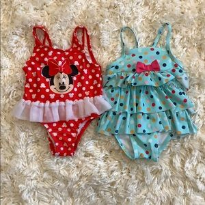 Other - Girls Lot of 2 One Pc Bikinis